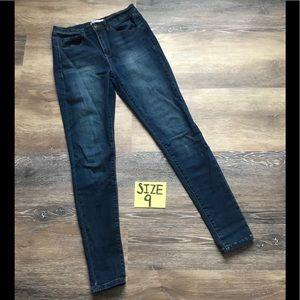 Mudd Juniors Size 9 High Rise Skinny Jeans